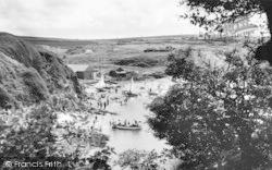 Cemaes Bay, Peep Through The Trees c.1960