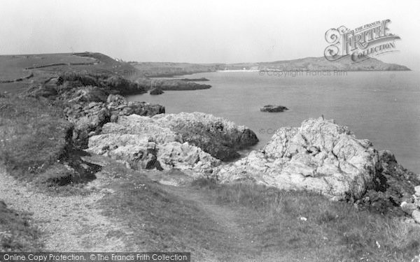 Photo of Cemaes Bay, Penrhyn Point c.1936