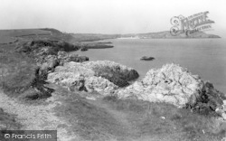 Cemaes Bay, Penrhyn Point c.1936