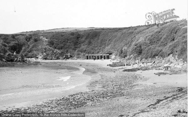 Photo of Cemaes Bay, The Bathing Beach c.1936