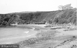 Cemaes Bay, The Bathing Beach c.1936