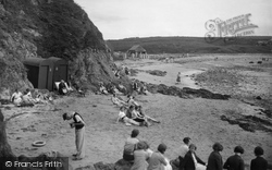 Cemaes Bay, The Beach 1936