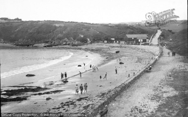 Photo of Cemaes Bay, The Beach c.1936