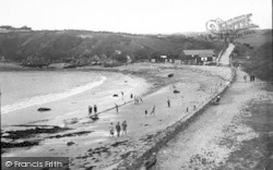 Cemaes Bay, The Beach c.1936