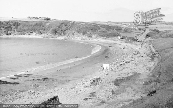 Photo of Cemaes Bay, The Beach c.1955