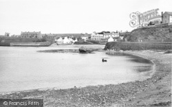 Cemaes Bay, The Beach c.1955
