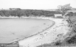 Cemaes Bay, The Beach c.1960