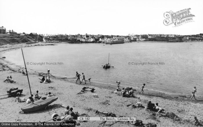 Photo of Cemaes Bay, The Beach c.1960