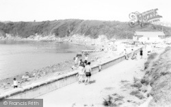 Cemaes Bay, The Beach c.1965