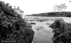 Cemaes Bay, The Creek c.1965