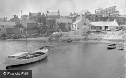 The Harbour c.1936, Cemaes Bay