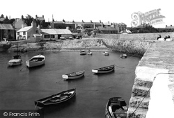 Cemaes Bay, The Harbour c.1936