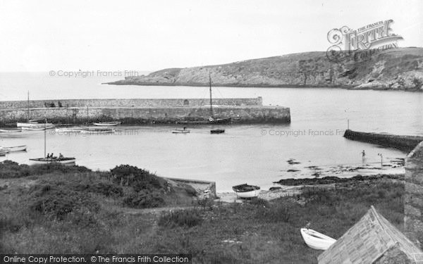 Photo of Cemaes Bay, The Harbour c.1936