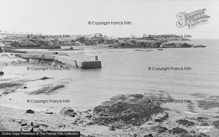 Photo of Cemaes Bay, The Harbour c.1955