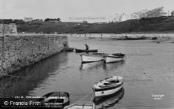 The Harbour c.1955, Cemaes Bay