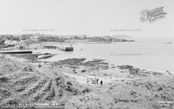 Photo of Cemaes Bay, The Harbour c.1960