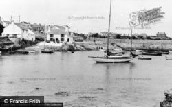 The Harbour c.1960, Cemaes Bay