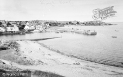 Cemaes Bay, The Harbour c.1960