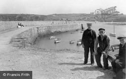 Cemaes Bay, The Pier 1936