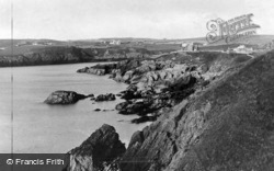 The Rocky Coast Line c.1935, Cemaes Bay