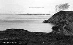 The Skerries Light From Fydlyn Bay 1936, Cemaes Bay