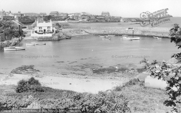 Photo of Cemaes Bay, View From Harbour c.1936