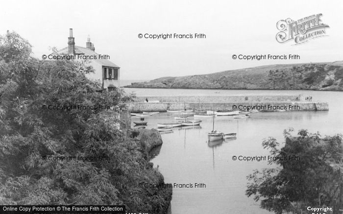 Photo of Cemaes Bay, View From The Bridge c.1935