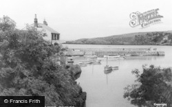 Cemaes Bay, View From The Bridge c.1935