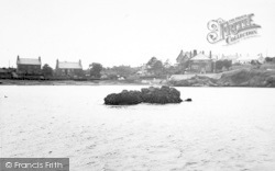 Cemaes Bay, View From The Sea c.1955