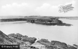 Cemaes Bay, Wylfa Beach c.1935