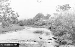 Cemmaes, River And Village c.1960