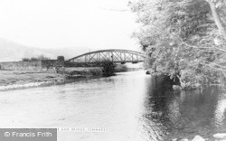 Cemmaes Road, Dovey Bridge c.1955