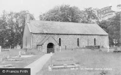 Cemmaes, St Tydecho Church c.1960