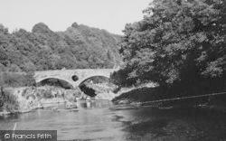 Cenarth, Coracles c.1955