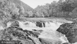 Cenarth, Falls c.1935