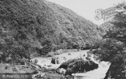 Cenarth, Falls c.1955