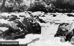 Cenarth, Salmon Leap c.1960