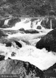 Cenarth, Salmon's Leap c.1955