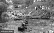 Cenarth, Sheep Dipping c1960