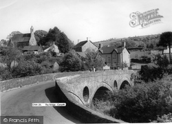 Cenarth, The Bridge c.1960