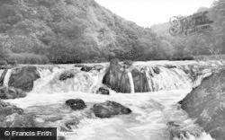 Cenarth, The Falls c.1960