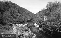 Cenarth, The Salmon Falls c.1960