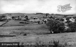 General View c.1950, Cerrigydrudion