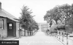 Holyhead Road c.1950, Cerrigydrudion