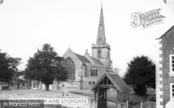 Chaddesley Corbett, St Cassian's Church And Lychgate c.1965