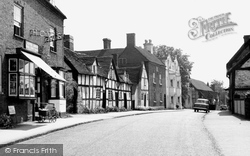 Chaddesley Corbett, The Village c.1955