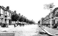 Chadwell Heath, Eric Road 1908