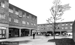 Chadwell St Mary, Defoe Parade c.1960