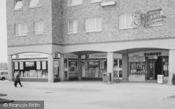 Chadwell St Mary, Defoe Parade Shops c.1960