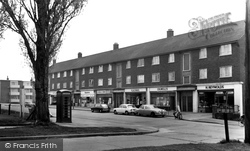 Chadwell St Mary, River View c.1960